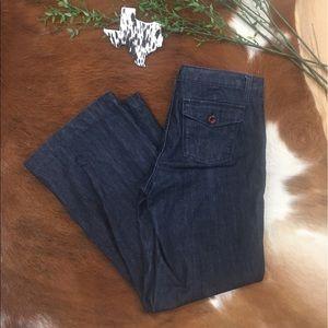 BANANA REPUBLIC • Dress Pant Denim Flare Jeans